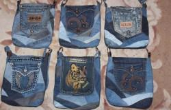Как сделать сумку из джинсов своими руками