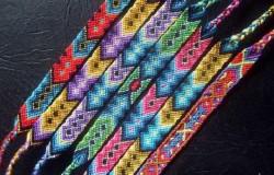 Фенечки, плетение фенечек и схемы фенечек