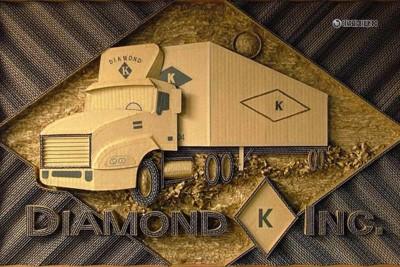 Логотипы из гофрированного картона.
