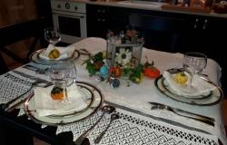 Весенние идеи декорирования праздничного стола