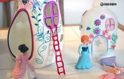 Сказочные домики для фей из пластиковых бутылок