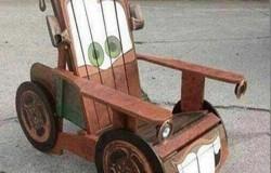Детская машинка Том Матер из дерева  своими руками