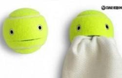 Полезные поделки  из теннисных мячей