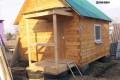 Фундамент из покрышек для садового дома.
