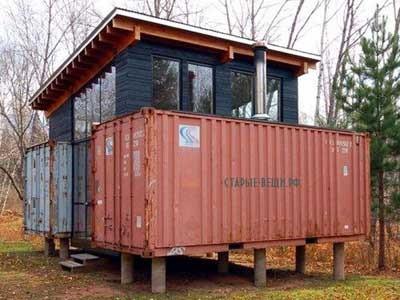 Дом Холька из контейнеров