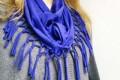 МК  оригинальный шарф из футболки своими руками