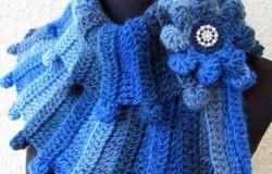 Идеи по изготовлению шарфа из толстой пряжи