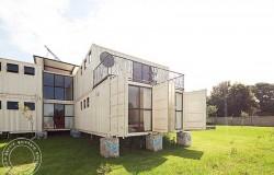 Детский дом из грузовых контейнеров