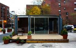 Контейнерный дом в Нью-Йорке