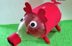 Мышь из пластиковой бутылки