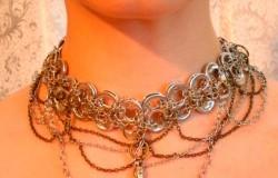 Ожерелье из баночных ключей