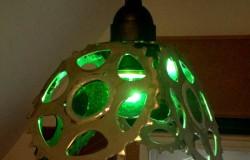 Светильники из звездочек велосипедных