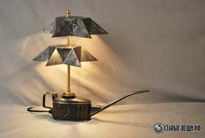 Светильники из кухонной утвари