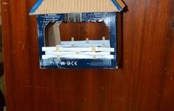 Кормушка для птиц из картона.МК