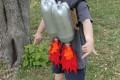 МК Карнавальный костюм ребенку из пластиковых бутылок