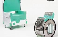 Кресла  из стиральной машины