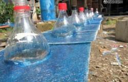 Освещение из пластиковых бутылок или как сделать поделку из пластиковых бутылок