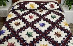 Красивые лоскутные одеяла в стиле пэчворк