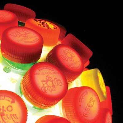 Самодельный ночник из пластиковых бутылок