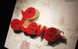 Признание в любви 14 февраля с помощью спичек