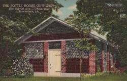 Дом из бутылок стеклянных в Луизиане
