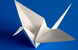 Как сделать оригами «Журавлика» быстро и просто