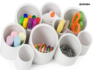 Системы хранения из пластиковых труб ПВХ своими руками