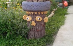 Поделки для украшения двора в г Серов