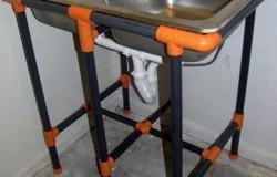 Полезные поделки из пластиковых труб  для дачи