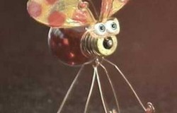 Сувенир из лампочки