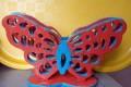 Салфетница бабочка из фанеры