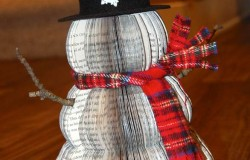 Снеговик из книг