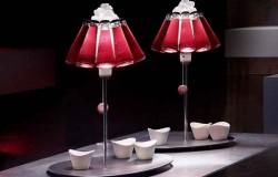 Светильник из стеклянных бутылок дизайнера Раффаэле Челентано