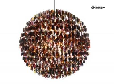 Светильники  из очков и стаканчиков