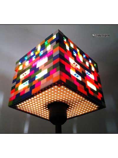 Светильники из детских конструкторов