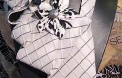 Шикарные колье-воротники из галстуков