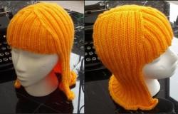 Сногсшибательная шапочка-парик