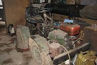 Самодельный трактор фото