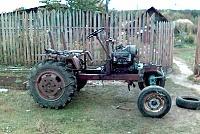 Как сделать самодельный трактор своими руками.