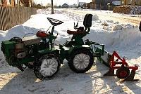 Самодельные вещи-самодельный трактор своими руками.
