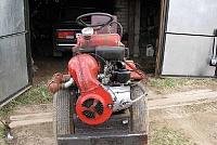 Самодельный трактор из мотоцикла ИЖ