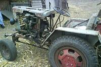 Переделанный трактор