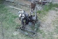 бензолебедка для вспашки