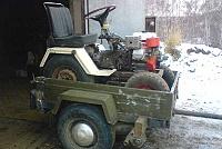 Компактный самодельный трактор