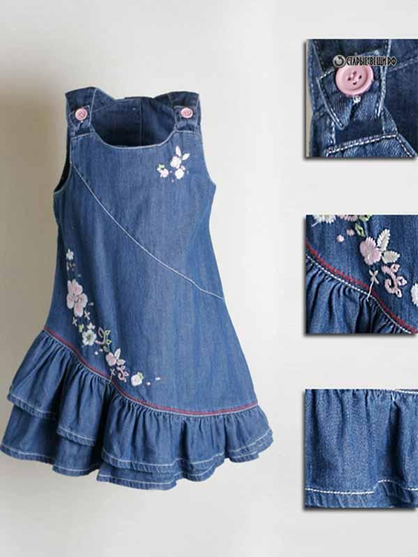 Как сшить сарафан или юбку для девочки 607