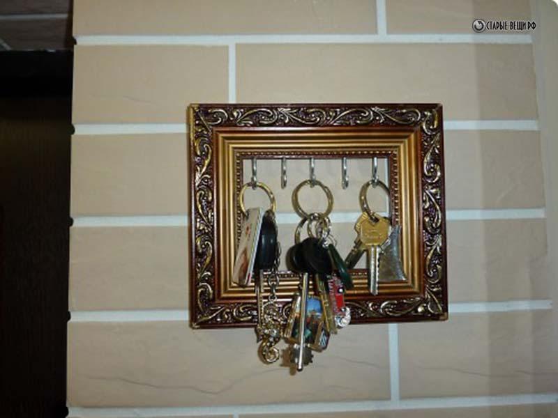Ключница настенная своими руками с фото