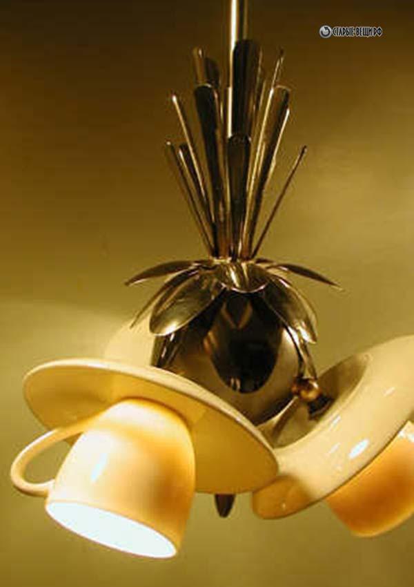 Как сделать самодельную люстру на кухню