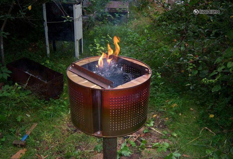 Видео: Как сделать мангал из барабана стиральной машины.
