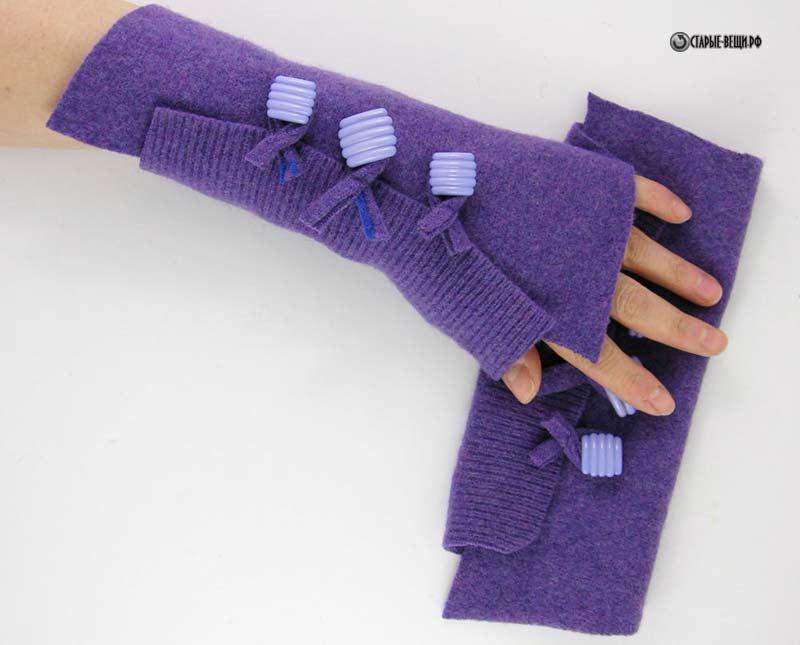 Сшить перчатки без пальцев своими руками