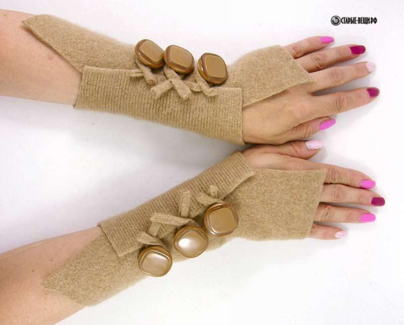 Длины перчатки своими руками 414